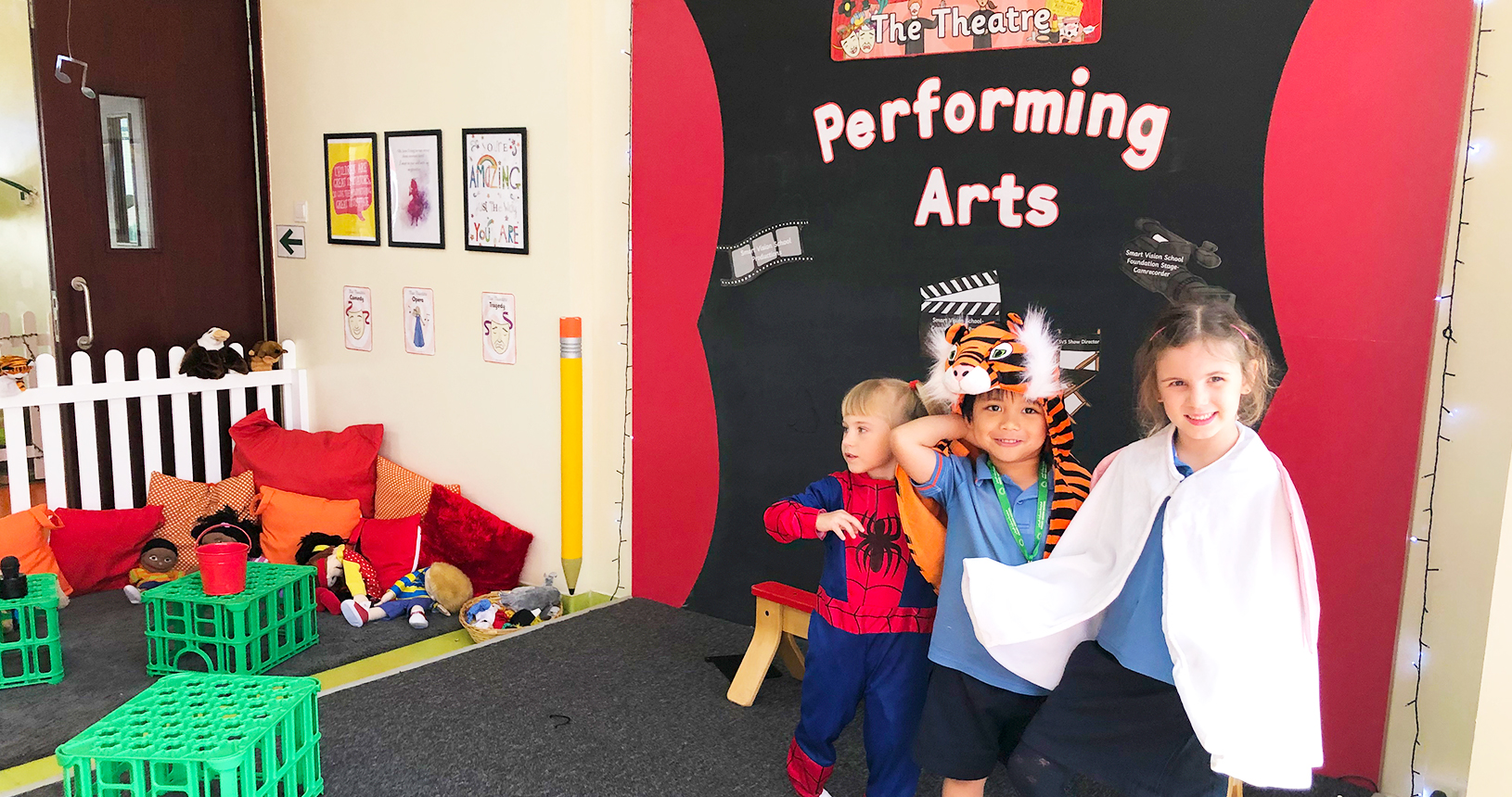 Smart Vision School Performing Arts Area